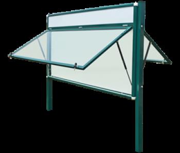 Gabloty zewnętrzne stojące 2-stronne